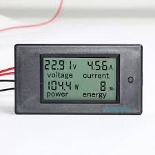 ac ammeter wiring diagram ac wiring diagrams dc watt meter ac ammeter connection diagram