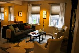 How To Decorate A Narrow Lounge In Gray Imanada Living Room ...