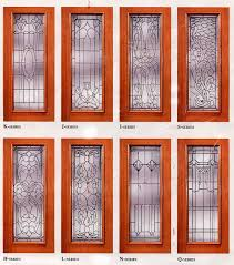 all bevel panels in select mahogony doors or sold seperatly