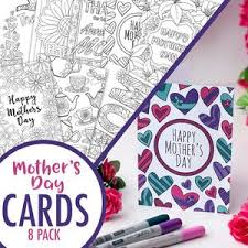 Our moms are very special to us. Mother S Day Cards 8 Printable Mother S Day Card Etsy