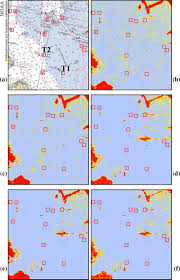 Hybrid Degree Chart A Noaa Nautical Chart Showing The Position Of The Buoys B
