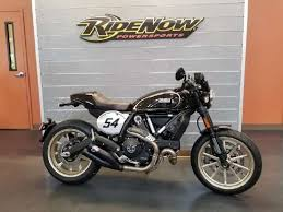 new or used standard ducati scrambler cafe racer motorcycles for