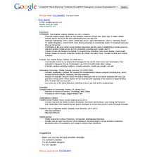 Google Job Resume - April.onthemarch.co