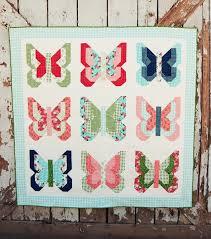 Social Butterfly Quilt Pattern - Lella Boutique & Social Butterfly Quilt Pattern by Lella Boutique Adamdwight.com