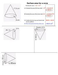 Surface = 4.0 * math.pi * (radius*radius) print(surface area: Surface Area Math 8 Rsu 2
