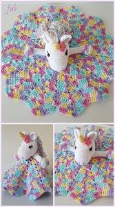 Free Crochet Lovey Pattern Custom Crochet Unicorn Security Blanket Free Crochet Pattern Paid