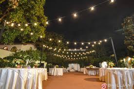Darlington House La Jolla Wedding Venue Market Lights