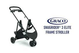 graco snugrider 3 elite stroller