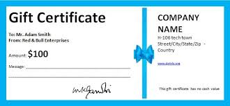 Store Gift Certificate Template Free Business Gift Certificate Template With Logo Store Gift