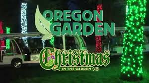 Oregon Garden Christmas in the Garden 2015 - YouTube