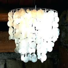capiz lotus chandelier capiz shell lotus flower chandelier