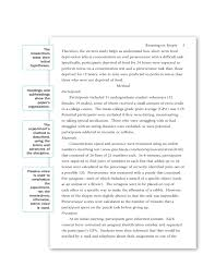 Apa Research Paper Layout Sample Apa Research Paper Discussion Section
