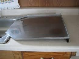 steel drain kitchen sink