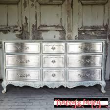 metallic silver dresser tracey s fancy
