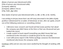 Follow Up Letter 7 Free Doc Download Interview Follow Up Thatedge