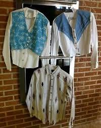 3 Vintage Women Western Shirts Lilia Smith & Panhandle Slim XS | eBay
