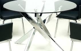 small round glass table and small round kitchen patio set dining black chairs glass table very