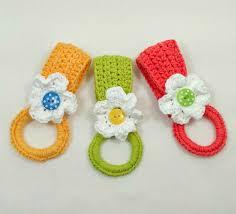 Free Crochet Towel Holder Pattern