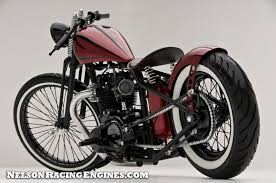 nelson racing engines rudy s triumph bobber