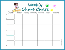 Housekeeping Schedule Template House Cleaning Checklist