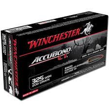 Ammo 325 Wsm Winchester Supreme 200 Grain Accubond Ct Bullet 2950 Fps 20 Rounds S325wsmct