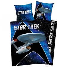 star trek single duvet cover set bedding quilt official