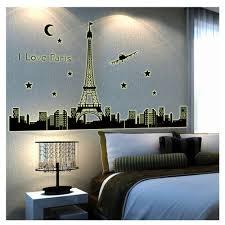 Paris Decor For Bedroom Aliexpresscom Buy Paris Bedroom Wall Decor Sticker Decals Vinyl