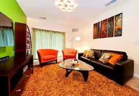 View Black And Orange Living Room Inspirational Home Decorating Fresh On  Smartness Design Orange Living Room Ideas 9