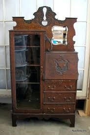 secretary furniture antique corner secretary desk