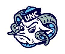 Free download of UNC Tarheel vector logos