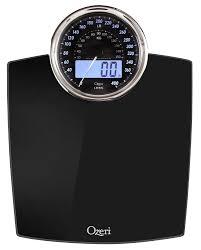 Black Bathroom Scales Amazoncom Ozeri Zb19 Rev Digital Bathroom Scale With Electro