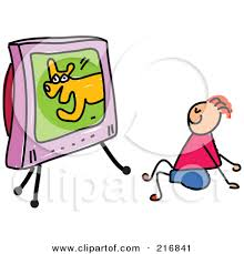 boy watching tv clipart. pin tv clipart show #5 boy watching c
