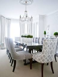contemporary dining room love the patterned chairs for head intended decor 13