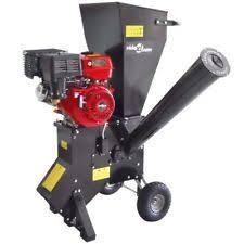 garden mulcher. 13 HP 389 Cc Petrol Garden Wood Timber Shredder Chipper Mulcher 4-stroke Engine#