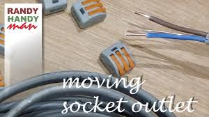 Extending Light Switch Cable How To Move Socket Outlet Extend Socket Outlet