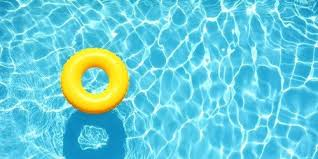 pool water with float. Beautiful Water Yellow Float In Pool Concept In Pool Water With Float