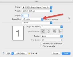 How To Set Up Custom User Defined Paper Size Photoshop Cs5 Mac