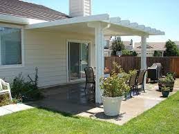 simple covered patio design ideas