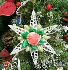 Wholesale Seashell Flowers Christmas OrnamentsChristmas Ornaments Wholesale