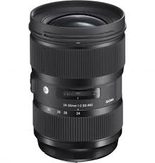 full frame cameras new 24 35mm f2 dg hsm art lens offers prime performance with zoom versatility covering
