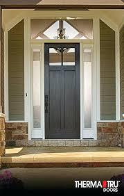therma tru doors reviews fiberglass door benchmark