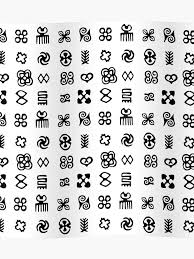Adinkra Symbols From West Africa Poster