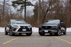 Mazda Cx 5 Trim Comparison Chart Suv Comparison 2019 Mazda Cx 5 Signature Vs Lexus Nx300 F