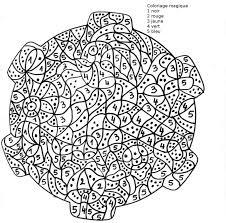 Imprimer Chiffres Et Formes Coloriages Magiques Num Ro 576037