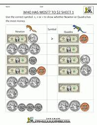 Money Mathheets Free Christmas Practice For Kindergarten Touch ...