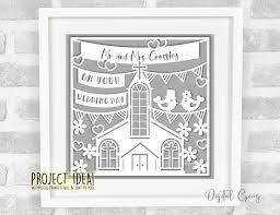 Wedding Paper Cut Design Svg Dxf Eps Png Files