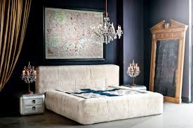 Sophisticated Bedroom Furniture Amazing Timothy Oulton Bed Covered In Lambswool Furniture For