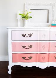Painting Furniture How To Paint Furniture And Ombre Dresser I Heart Nap Time