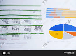 Investment Charts And Graphs Charts Graphs Image Photo Free Trial Bigstock