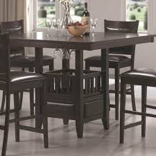 High Top Dining Table With Storage Small Counter Height Table Sets Home Color Ideas